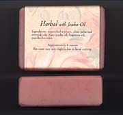 [Herbal Soaps with Jojoba Oil]